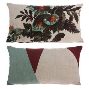 HK Living printed cushion kyoto 35 x 60