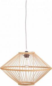 Kidsdepot Ufo hanglamp bamboo naturel dia45cm H28cm