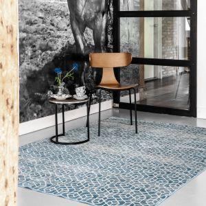 Vintage Vloerkleed Aurore Blauw  - Eva Interior