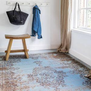 Vintage Vloerkleed  Bloom - Blauw/Grijs - EVA Interior