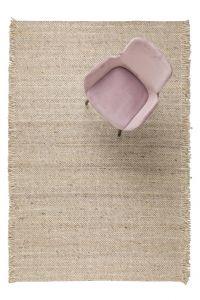 Wollen Vloerkleed Frills Beige/Geel- Zuiver - 170 x 240cm