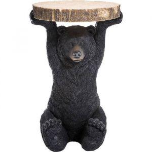 Kare Design Bijzettafel Animal Bear dia:40cm