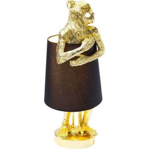 Kare Design Tafellamp Animal Monkey Gold Black