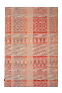 Desso Vloerkleed  Colour & Structure Ribbon Rood-Terra 4402 Rechthoek - 200 x 300 cm