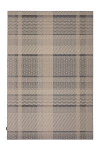 Desso Vloerkleed  Colour & Structure Ribbon Antraciet 9522 Rechthoek - 200 x 300 cm