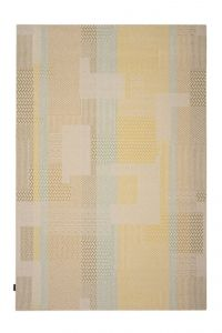 Desso Vloerkleed  Colour & Structure Block Oker-goud 6023 Rechthoek - 200 x 300 cm