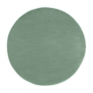 Laagpolig Rond Vloerkleed Groen - Roundy