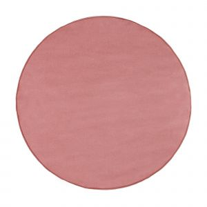 Laagpolig Rond Vloerkleed Roze - Roundy