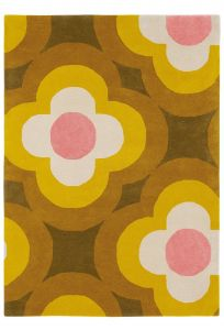 Vloerkleed wol Pulse Yellow 060306 Orla Kiely