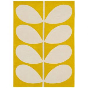 Vloerkleed wol Yellow Stem 059306 Orla Kiely