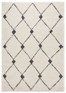 Mint Rugs Allure Grey, Black 104025