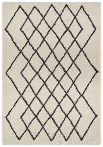 Mint Rugs Allure Cream Black  103774