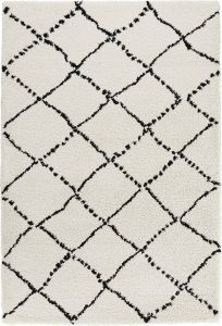 Mint Rugs Allure Cream black 102753