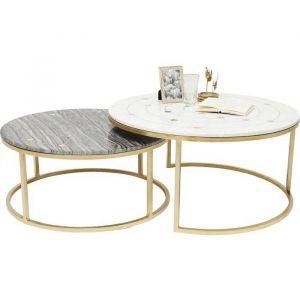 Side Table Mystic Round (2/set) Ø90cm