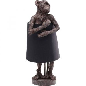 Kare Design Tafellamp Lamp Animal Monkey Brown Black