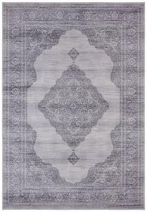 Vintage Vloerkleed Asmar slate-Grijs 104021 Nouristan