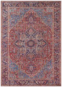 Vintage Vloerkleed Asmar orient-Rood  104012 Nouristan