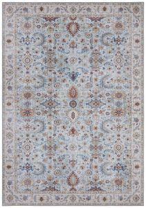 Vintage Vloerkleed Asmar heaven-Blauw 104005 Nouristan