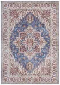 Vintage Vloerkleed Asmar jeans-Blauw 104001 Nouristan