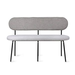HK living Dining table bench grey
