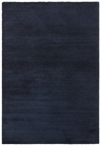 Vloerkleed GLOW  Dark blue  - ELLE DECOR
