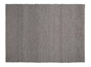 Wollen vloerkleed Mandala Bruin - Zwarte ketting