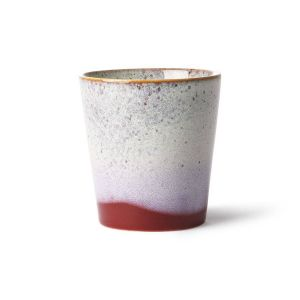 HK Living ceramic 70's mug: frost