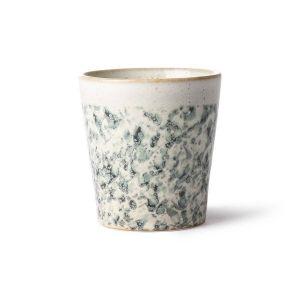 HK Living ceramic 70's mug: hail