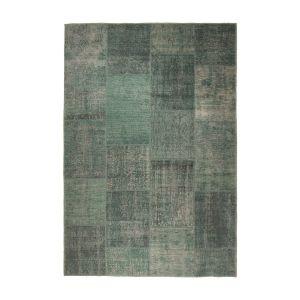 Patchwork Vloerkleed Groen Lara - Interieur05