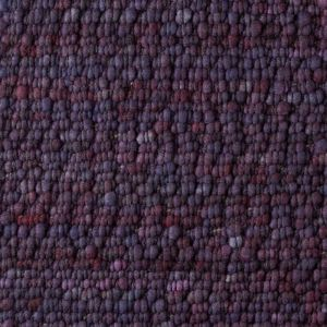 Vloerkleed Wol Paars Gravel 099 - Perletta