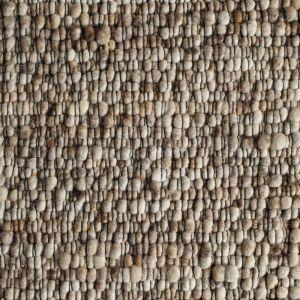 Vloerkleed Wol Beige Gravel 104 - Perletta