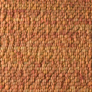 Vloerkleed Wol Oranje Gravel 022 - Perletta