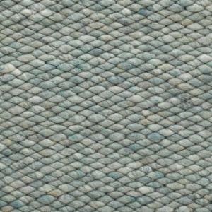 Wollen vloerkleed Mint Groen Limone 343 - Perletta