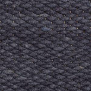 Wollen vloerkleed Blauw Limone 350 - Perletta