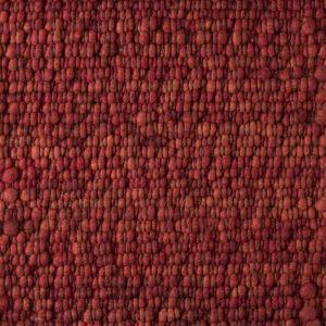 Vloerkleed Wol Rood Gravel 112 - Perletta
