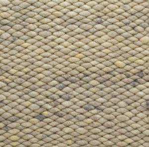 Wollen vloerkleed Beige Limone 374 - Perletta