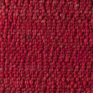 Vloerkleed Wol Rood Gravel 319 - Perletta