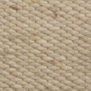 Wollen vloerkleed Wit Beige Limone 001 - Perletta
