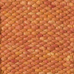 Wollen vloerkleed Oranje Limone 022 - Perletta