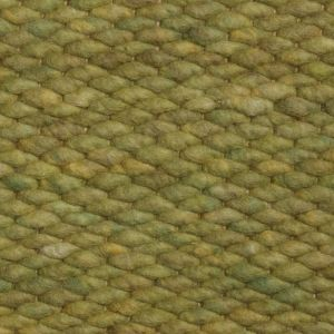 Wollen vloerkleed Groen Limone 040 - Perletta
