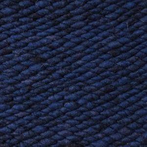 Wollen vloerkleed Blauw Limone 059 - Perletta