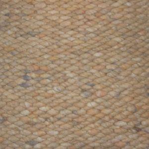 Wollen vloerkleed licht geel Limone 124 - Perletta