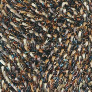 Hoogpolig Vloerkleed Spring 59105 Bruin Multicolor - Brink en Campman