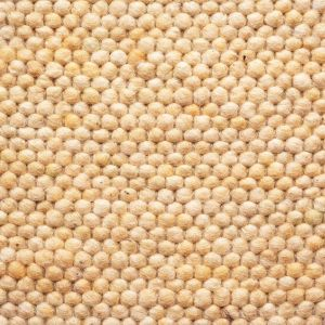 Wollen vloerkleed Greenland 160 Geel - Brinker