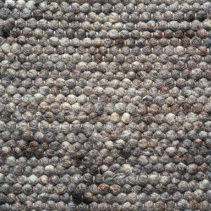 Wollen vloerkleed Greenland 228 Donker Grijs - Brinker