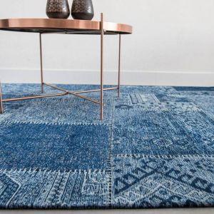 The Khayma Farrago Collection 8781 Tuareg Blue - Louis de Poortere