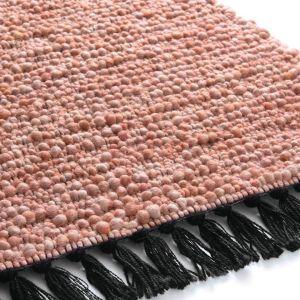 Wollen vloerkleed Lyon 131 Rood - Brinker