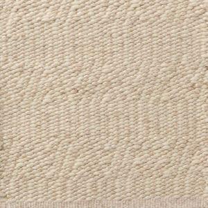 Wollen Vloerkleed Beige Labyrinth - Perletta