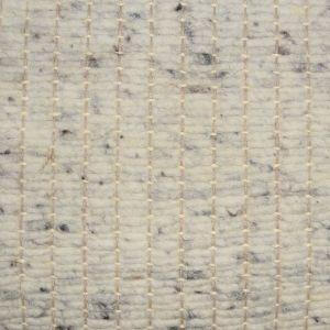 Wollen tapijt Wit Grijs Savannah 003 - Perletta