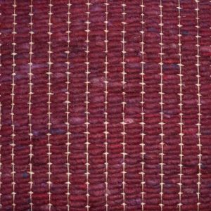 Wollen Tapijt Bordeaux Rood Savannah 091 - Perletta